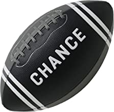 Chance Football - PRO Quality Composite Leather (Size 7 Kids & Youth Football, 9 Official NFL Football)