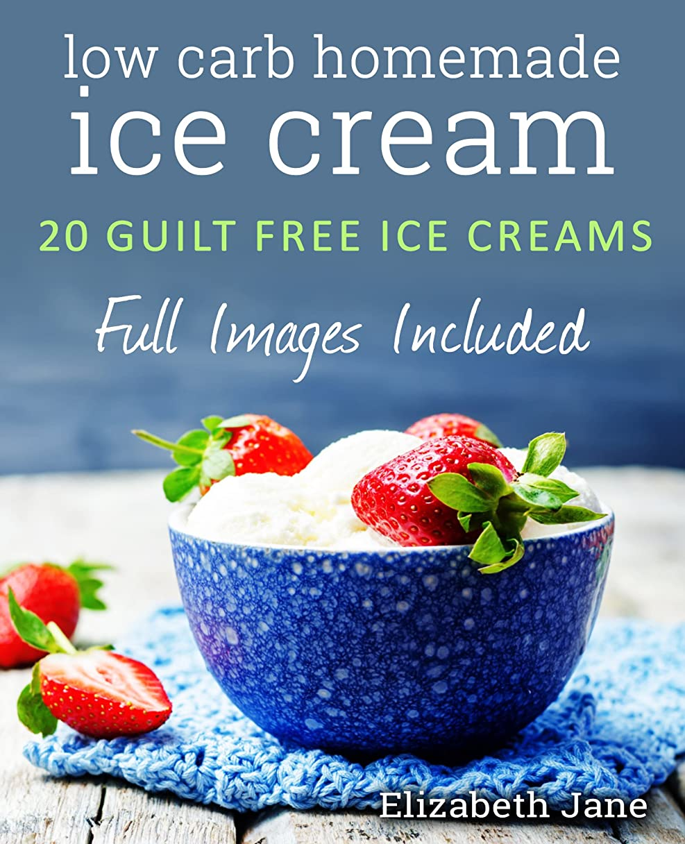 Keto Homemade Ice Cream: 20 Diabetic, Low Carb, Paleo, Gluten Free, Guilt-Free Recipes (Elizabeth Jane Cookbook) (English Edition)