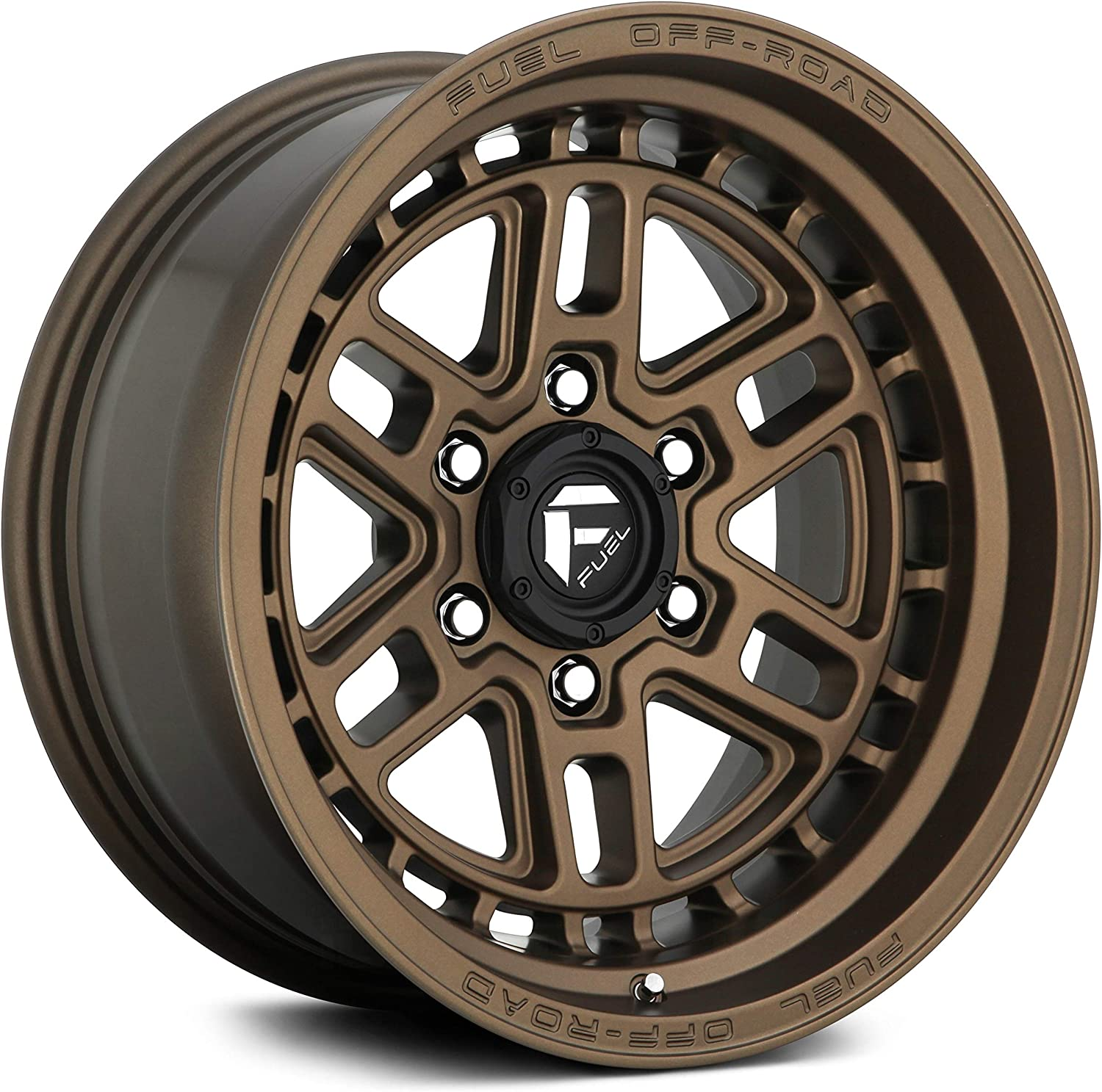 Fuel Offroad D669 NITRO Outstanding BRONZE Wheel 17 x 9. inches with Easy-to-use Black