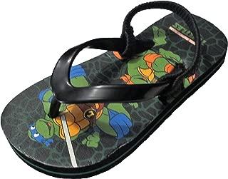 Boy's Teenage Mutant Ninja Turtles TMNT Beach Sandals Flip Flops