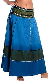 f1ad10cef Amazon.es: Falda Pareo - Azul / Faldas / Mujer: Ropa