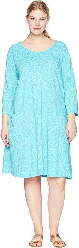 Plus Size Waves Dalia Dress
