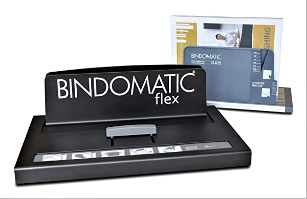 CoverBind Bindomatic Accel Flex Thermal Binding Machine