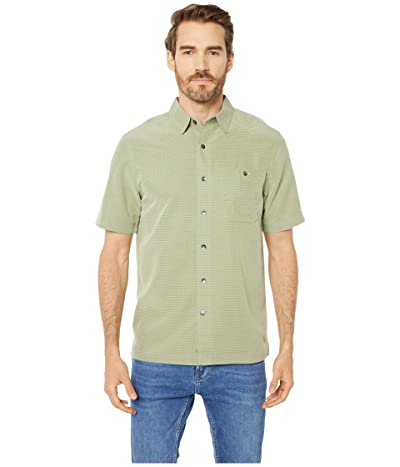 Royal Robbins Mojave Desert Pucker S/S (Light Olive) Men