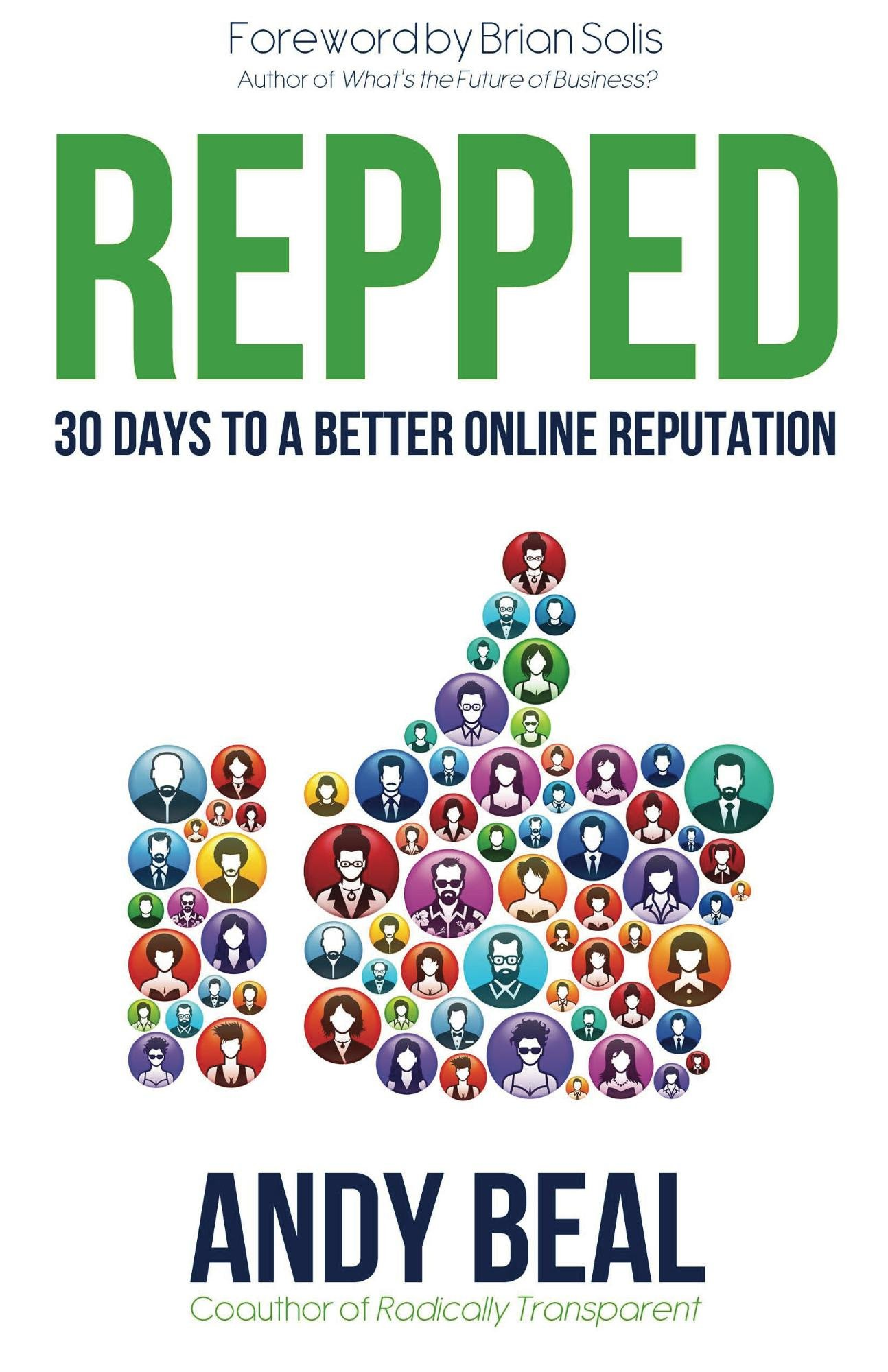 Image OfRepped: 30 Days To A Better Online Reputation