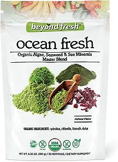 BEYOND FRESH Ocean Fresh Organic Algae, Seaweed and Sea Minerals Blend, 180 Grams, 180 Gram
