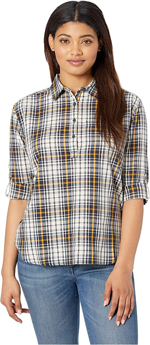 Citrine Yellow Beavertail Plaid