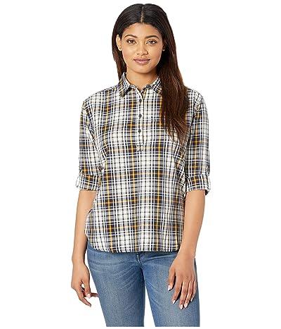 The North Face Long Sleeve Bayward Shirt (Citrine Yellow Beavertail Plaid) Women