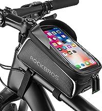 قاب RockBros دوچرخه قاب جلو دوچرخه سواری ضد آب لوله بالا قاب Panner تلفن همراه صفحه کلید لمسی صاحب دوچرخه متناسب با تلفن زیر 6.0 اینچ