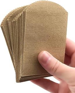 "50 Mini Kraft Paper Bags - 4"" x 2.5"" Party Favor Bags, DIY Craft Supplies"