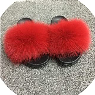 Surprise S Slippers Womenjamaica Fluffy Sliders Comfortfeather Ry Summer Flats Sweet Ladies Shoes Logo