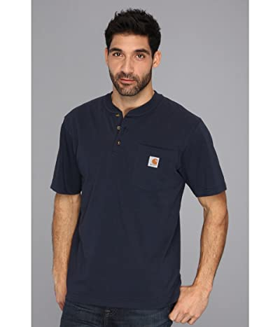 Carhartt Workwear Pocket S/S Henley (Navy) Men