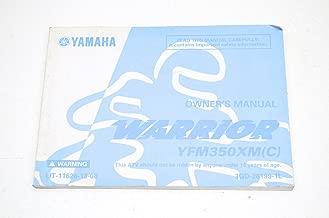 Yamaha Factory Owners Manual / 2000 YFM350XMCL Warrior / Pt # LIT-11626-13-08