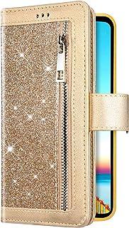 Uposao Cover Compatibile con iPhone 11 6.1 Custodia per Cellulare Multifunzionale con 9 Scomparti Carte Borsa per Ragazza ...