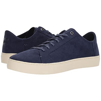 TOMS Lenox (Navy Perforated Synthetic Suede) Men