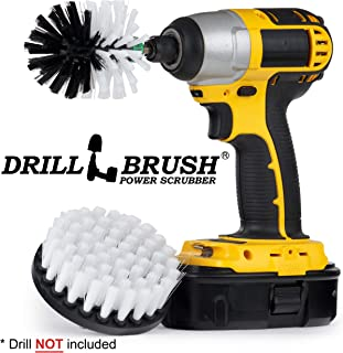 Drill Brush - Motorcycle - Car - Truck - Cleaning Supplies - Motorcycle Accessories - Detail Brush - Wheels - Rims - Tires - Saddle Bags - Spin Brush - Windshield - Glass Cleaner - Leather – Vinyl