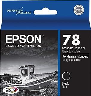 Epson T078120 Claria Hi-Definition 78 Standard-capacity Inkjet Cartridge -Black
