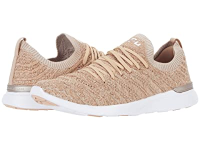 Athletic Propulsion Labs (APL) Techloom Wave (Rose Gold/White) Women
