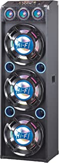 QFX SBX-412300-BL Bluetooth Speaker with Built-In Amplifier - Blue