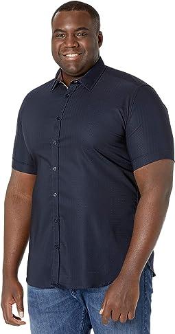 Big & Tall Emile Textured Stretch Shirt