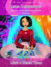 Learn Lenormand Micro, Mini, and Poker-Sized Lenormand Cards with Journal: Three Full 36-Card Decks of Paper Cut-Out Lenormand Divination Cards ... (Life's a Beach Tarot Divination Series)