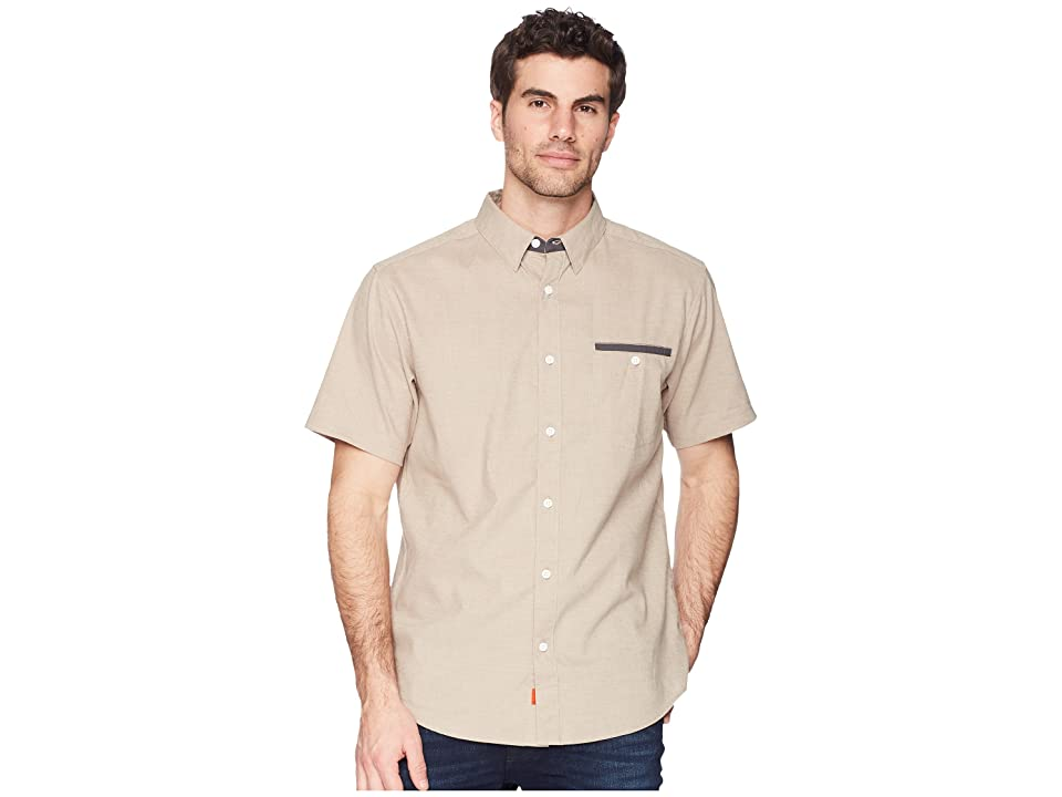 Mountain Hardwear Denton Short Sleeve Shirt (Badlands) Men