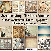 Scrapbooking Kit album vintage