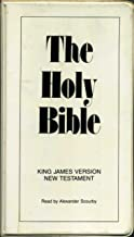 The Holy Bible King James Version New Testament Read by Alexander Scourby (12 Audio Cassettes)