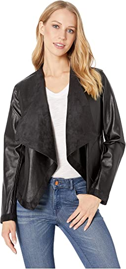 1c54fc164122f Bb dakota rowe drape front leather jacket