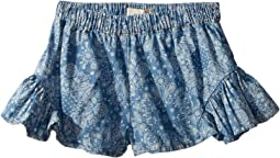 Bandana Print Shorts (Toddler/Little Kids/Big Kids)