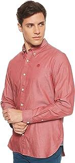 Timberland Men's LS Wellfleet Solid Oxford Shirt
