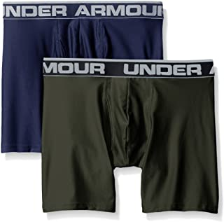 Under Armour Men's Original Series 6-inch Boxerjock Boxer Briefs- 2 Pack