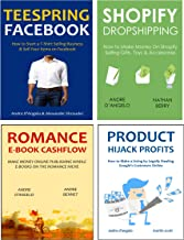 ONLINE MARKETING INCOME - 2016 (4 in 1 bundle): PRODUCT HIJACK PROFITS - ROMANCE E-BOOK CASHFLOW - SHOPIFY DROPSHIPPING - TEESPRING FACEBOOK