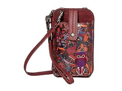 Sakroots Artist Circle Smartphone Wristlet (Cabernet Spirit Desert) Wristlet Handbags