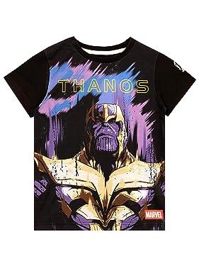 Marvel Boys' Thanos T-Shirt