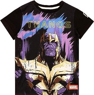 Marvel Camiseta de Manga Corta para niños Thanos