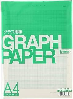 SAKAEテクニカルペーパー 図表用紙 上質紙 正規確立紙 A4 25枚 グリーン A4-正2