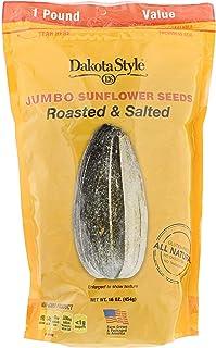 Sponsored Ad - Dakota Style Jumbo In-Shell Sunflower Seeds, Original, 16 Ounce (Pack of 12)
