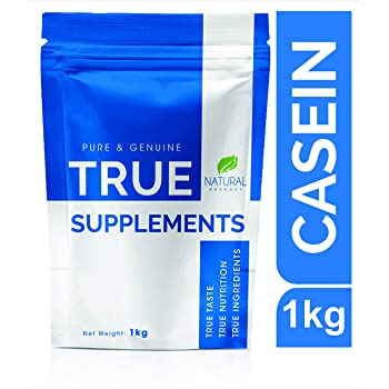 True Supplements Pure Micellar Casein Protein for Muscle Growth & Recovery l 33 servings l 1kg