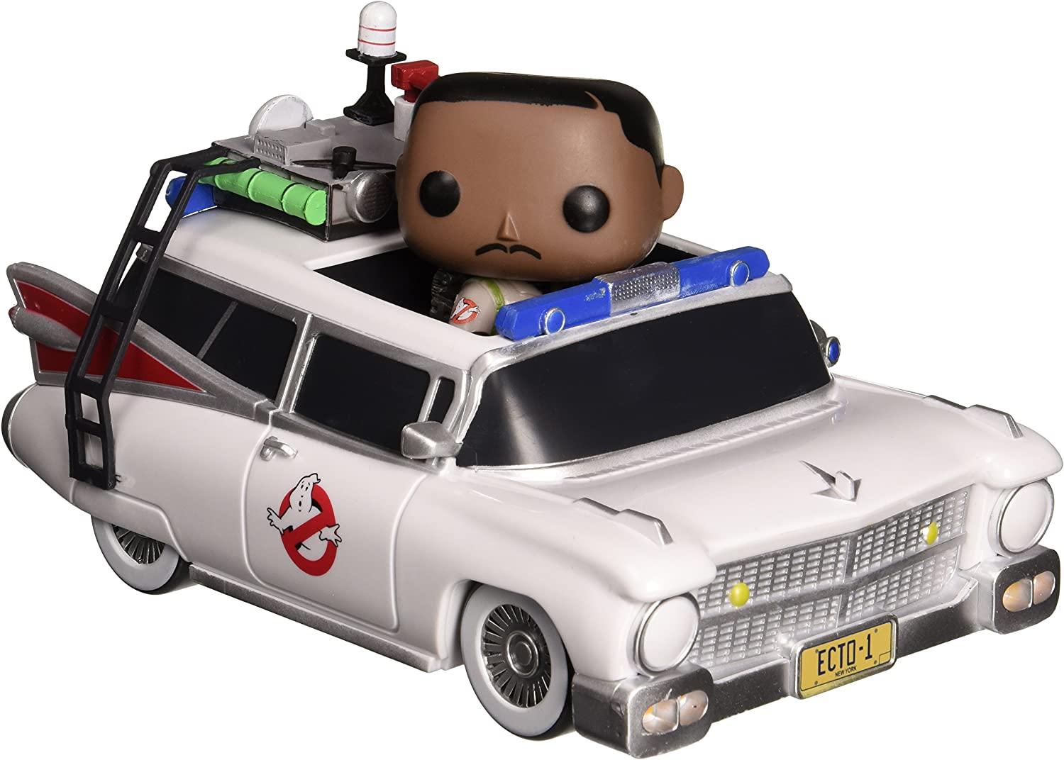 POP  Vinyl Ghostbusters Ecto1 and Winston Zeddmore Figure