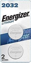 Energizer 2032 Batteries 3V Lithium, (2 Battery Count) Replaces BR2032, DL2032, ECR2032