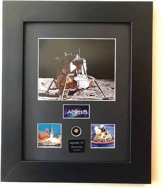 CENTURY CONCEPT Apollo 11 50th Anniversary Framed Print With Kapton