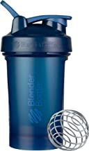 BlenderBottle Classic V2 Shaker Bottle Perfect for Protein Shakes and Pre Workout, 20-Ounce, Navy