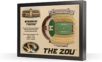 NCAA Missouri Tigers 25-layer stadiumview فنية جدارية ثلاثية الأبعاد