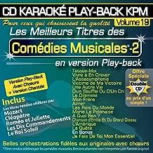 Karaoké Play-Back KPM Vol. 19 ''Comédies Musicales