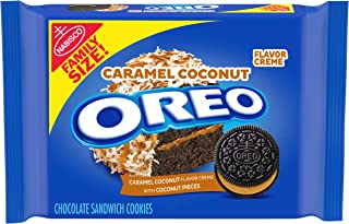 Oreo OREO Chocolate Sandwich Cookies, Caramel Coconut Flavored Creme, 1 Family Size Packs (17 oz.),