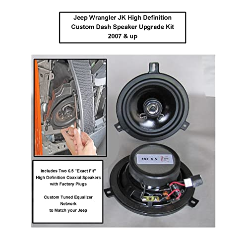 Dash Speakers for Jeep Wrangler: Amazon.com 2000 jeep cherokee radio wiring diagram Amazon.com