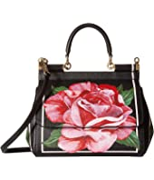 Dolce & Gabbana - Floral Printed Small Sicily Bag