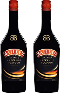 Baileys Hazelnut, 2er, Original Irish Cream Liqueur, Ireland, Sahne Likör, Alkohol, Alkoholgetränk, Flasche, 17% 700 ml