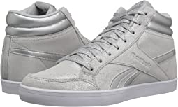 Silver Metallic/White/Light Grey Heather Solid Grey